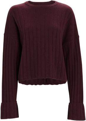 SABLYN Nathan Cashmere Rib Knit Sweater
