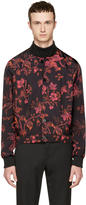 McQ by Alexander McQueen Black Atami Kilt Bomber Jacket