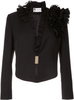 Lanvin ruffle detailed jacket