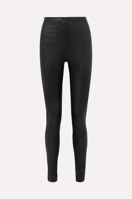 Philosophy di Lorenzo Serafini Faux Leather Leggings - Black