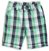 Manguun Checked Chino Shorts