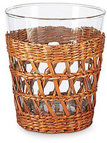 Southern Living Rattan Collection Barbados Double Old Fashioned Glass