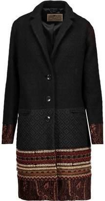 Etro Embellished Wool-blend Jacquard And Matelasse Coat