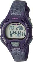 Timex Women's Ironman® Classic 30 Mid-Size Resin Strap Purple/Gray Accent