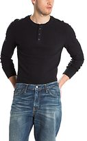 Levi's Refined Long Sleeve Henley Top