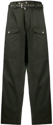 Marni Wide Leg Army Trousers