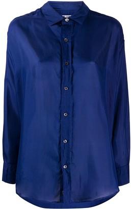 Katharine Hamnett Oversized Button Shirt
