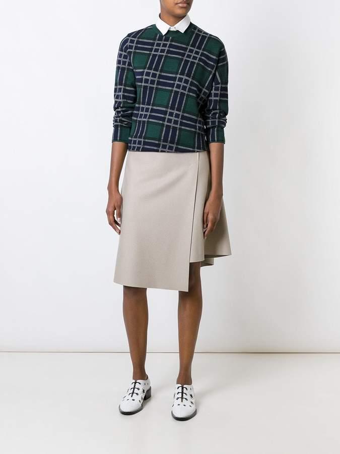 08sircus asymmetric wrap skirt