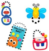 Sassy Baby Gift Set - Toys for 3+ Months