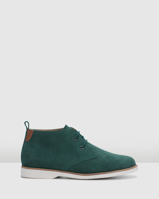 Hush Puppies Women's Green Lace-up Boots - Deena - Size One Size, 6 at The Iconic