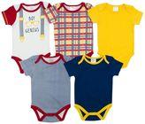 Baby Gear Baby Boy 5-pk. Print Grow-With-Me Bodysuits