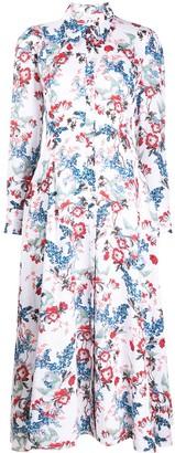 Erdem Josianne Bird Blossom dress