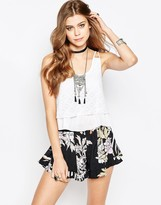Band of Gypsies Top With Multi Layer