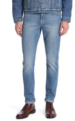 Frame L'Homme Ripped Slim Fit Jeans