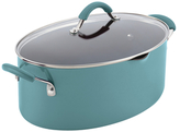Rachael Ray 8QT. Cucina Porcelain Covered Oval Pasta Pot