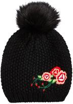 Very Girls Embroidery Detail Beanie