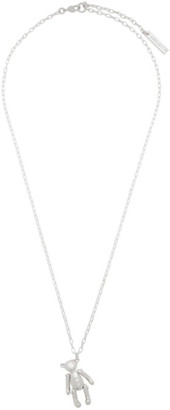 Ambush Silver Teddy Bear Necklace