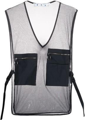 Off-White Mesh Pocket-Detailed Vest