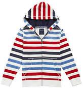 Nautica Little Boys' Multi Stripe Zip Hoodie (4-7)