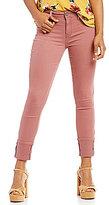 YMI Jeanswear Midi Mega-Cuff Ankle Skinny Jeans