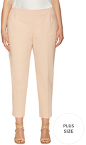 Lafayette 148 New York Stanton Cotton Cropped Pant