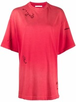 Thumbnail for your product : Acne Studios tonal stitching details T-shirt