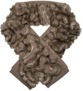Liska - cashmere and sable scarf - women - Cashmere/Sable - One Size