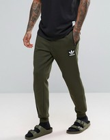 Adidas Originals Brand Pack Joggers In Green Ay9302