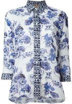 Fay floral print shirt - women - Cotton - L