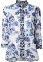 Fay floral print shirt