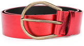 Maison Margiela large knotted belt - women - Calf Leather - S