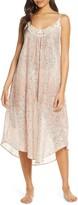 Papinelle Cherry Blossom Blush Cotton & Silk Nightgown