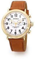 Shinola The Runwell Chrono Goldtone Stainless Steel Watch