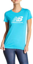 New Balance Crew Neck Logo Tee