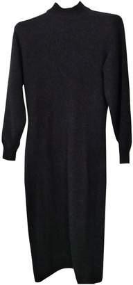 JC de CASTELBAJAC Anthracite Wool Dress for Women