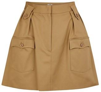 Miu Miu Thick cotton skirt