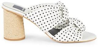 Dolce Vita Jene Polka Dot Heeled Sandals