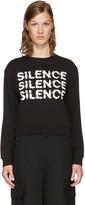 McQ by Alexander McQueen Black silence Sweatshirt