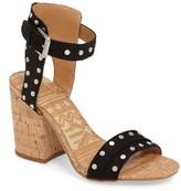 Dolce Vita Women's Essie Studded Block Heel Sandal