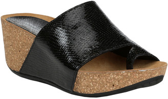 Donald J Pliner Ginie2 Metallic Wedge Sandal