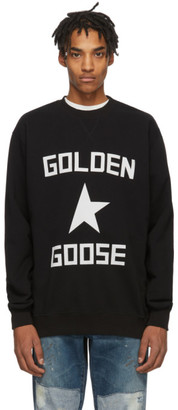 Golden Goose Black and White Star Sweatshirt
