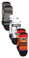 Stance Infant Boy's Monkey Assorted 3-Pack Socks
