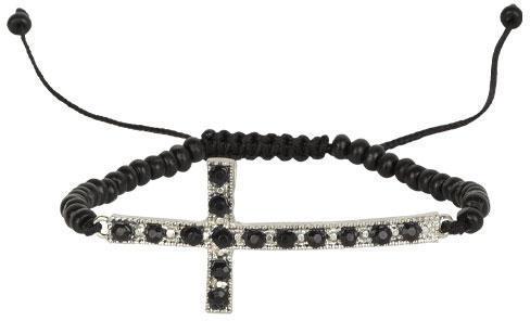 Alloy Fallen Cross Bracelet