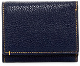 Robert Graham Capria Leather Trim Tri-Fold Wallet