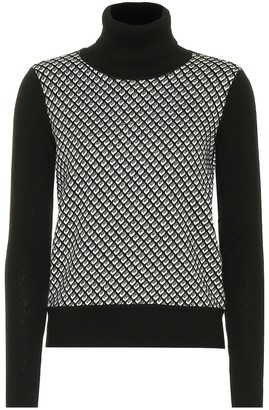 Diane von Furstenberg Wool-blend turtleneck sweater