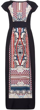 Dorothy Perkins Tribal panelled maxi dress