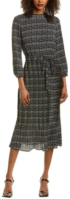 Anne Klein Metro Print Midi Dress