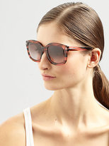 Tom Ford Christophe 53MM Square Sunglasses/Brown-Rose