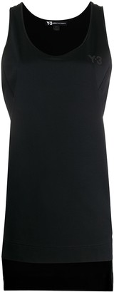 Y-3 Printed Logo Tank Top