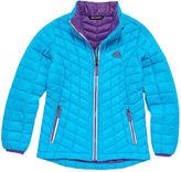 Asstd National Brand Heavyweight Pattern Puffer Jacket - Girls-Big Kid